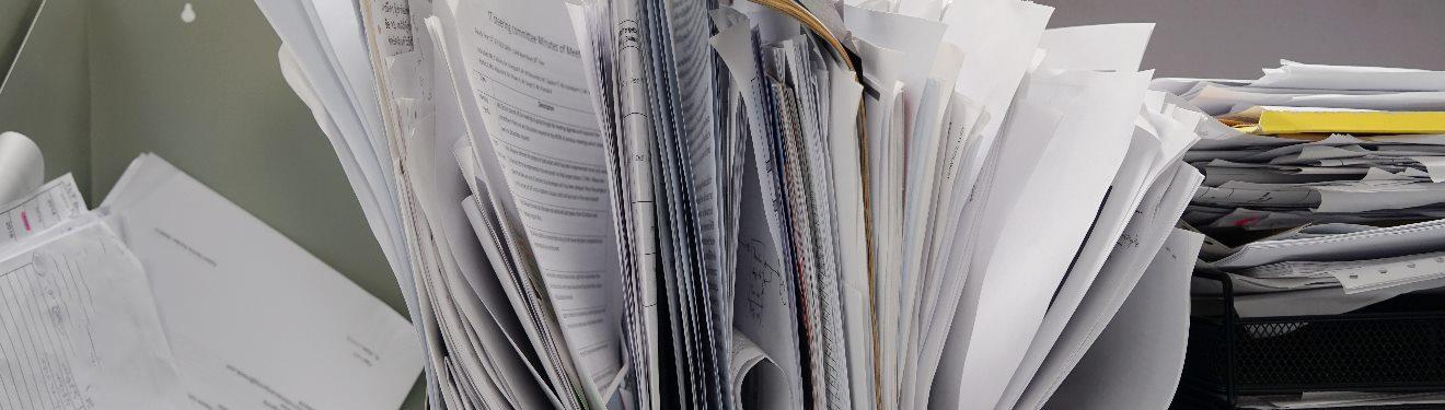 Nalatenschap, administratie of belastingaangifte